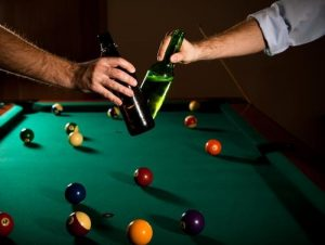 billiards and beer