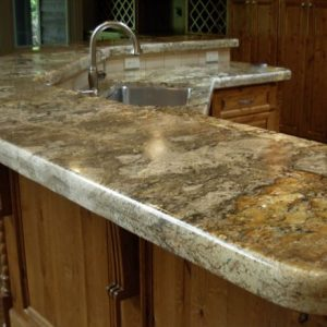 granite counter for home bar