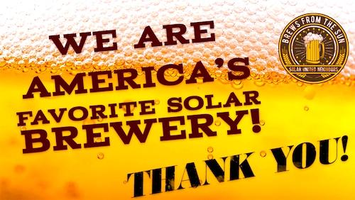 mud shark solar powered brewery